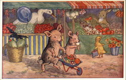 """When Piglets Go To Market"" by Molly Brett"