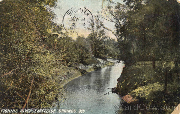 Fishing River Excelsior Springs Missouri