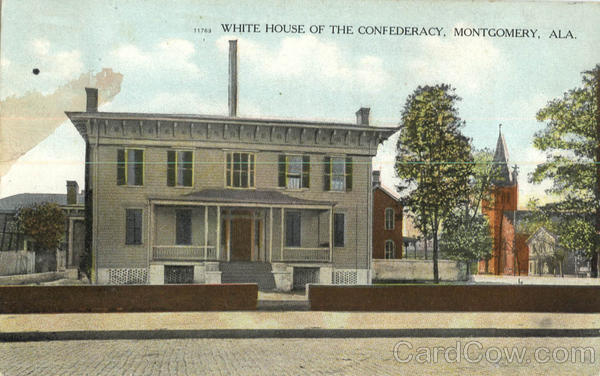White House Of The Confederacy Montgomery Alabama