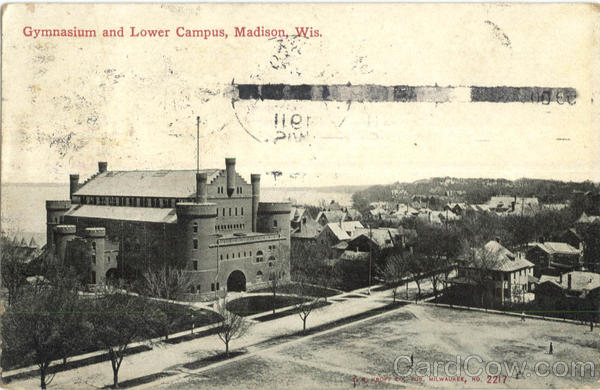 Gymnasium And Lower Campus Madison Wisconsin