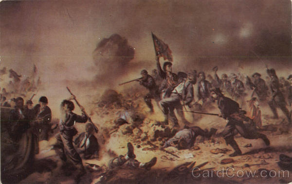The Battle Of The Crater Art