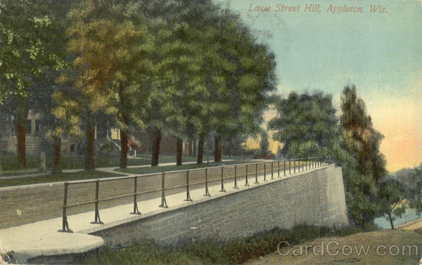 Lawe Street Hill Appleton Wisconsin