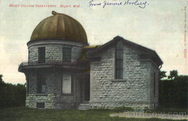 Beloit College Observatory Wisconsin