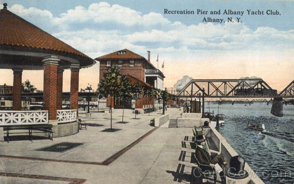 Recreation Pier And Albany Yacht Club New York