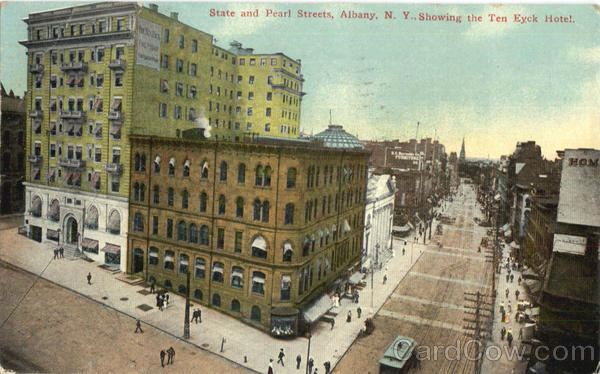 State And Pearl Streets Albany New York