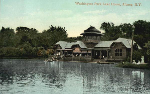 Washington Park Lake House Albany New York