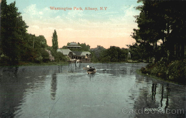 Washington Park Albany New York