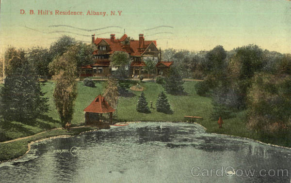 D. B. Hill's Residence Albany New York