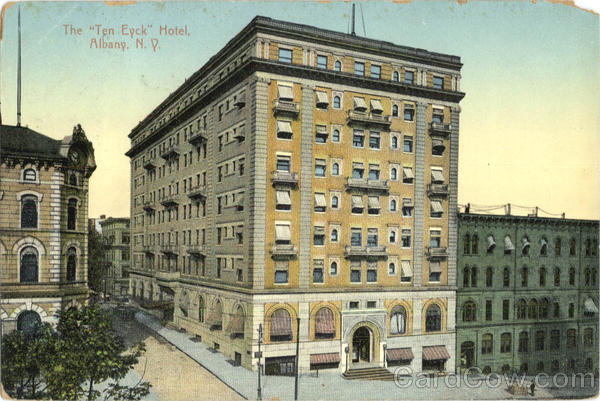 The Ten Eyck Hotel Albany New York