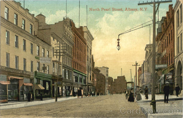 North Pearl Street Albany New York