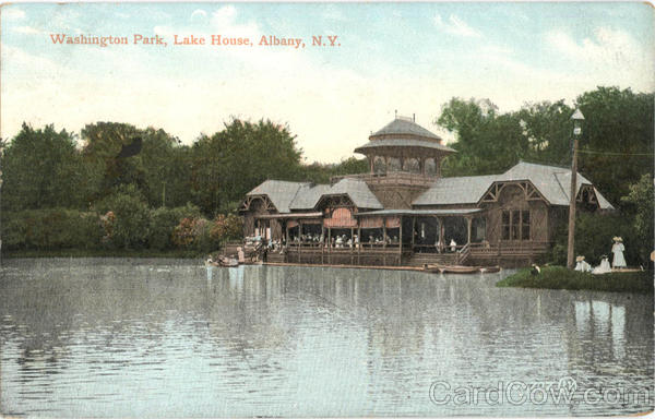 Lake House, Washington Park Albany New York