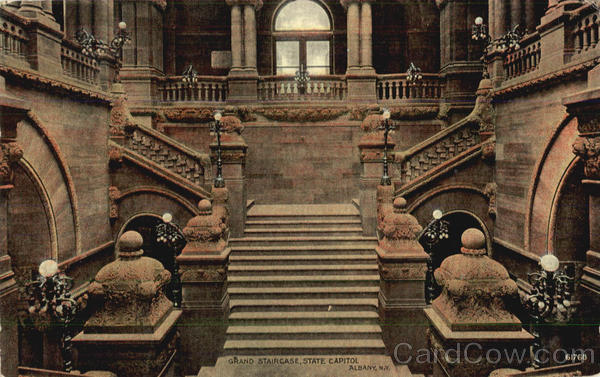 Grand Staircase State Capitol Albany New York