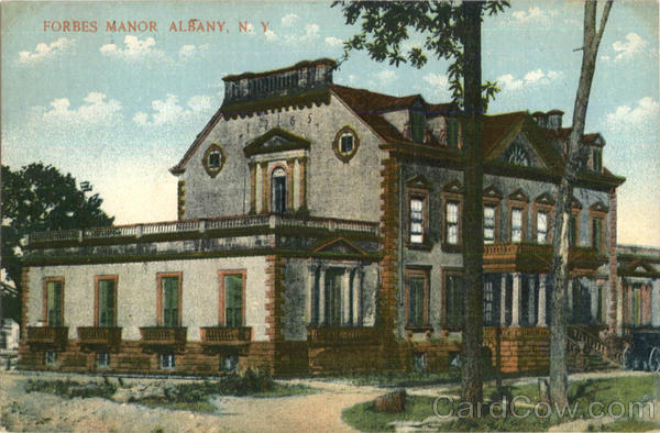 Forbes Manor Albany New York