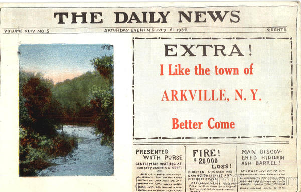 The Daily News Arkville New York