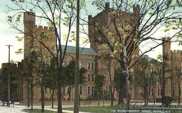 The 74Th Regiment Armory Buffalo New York