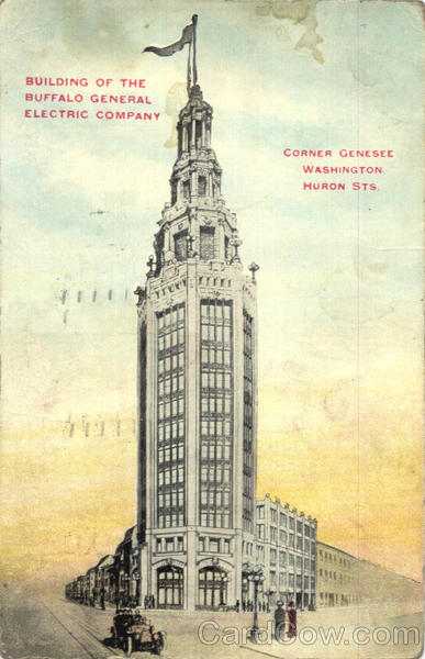 Building Of The Buffalo General Electric Company New York