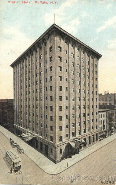 Statler Hotel Buffalo New York