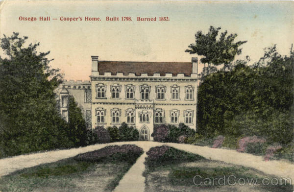 Otsego Hall Cooper's Home Cooperstown New York