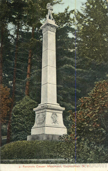 J. Fenimore Cooper Monument Cooperstown New York