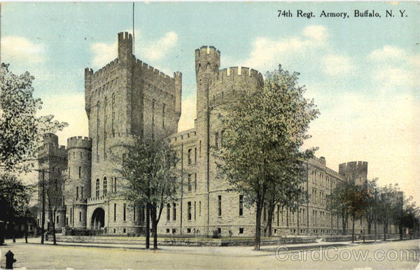 74Th Regt. Armory Buffalo New York
