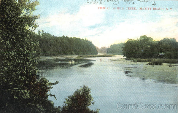 View Of 18 Mile Creek Olcott Beach New York