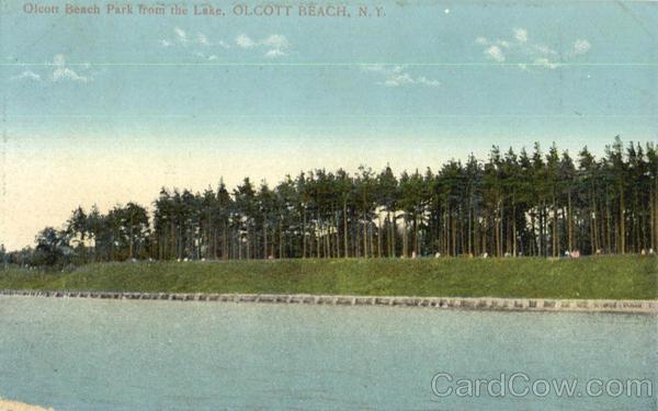 Olcott Beach Park From The Lake New York