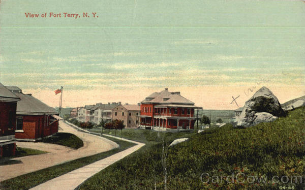 View Of Fort Terry New York