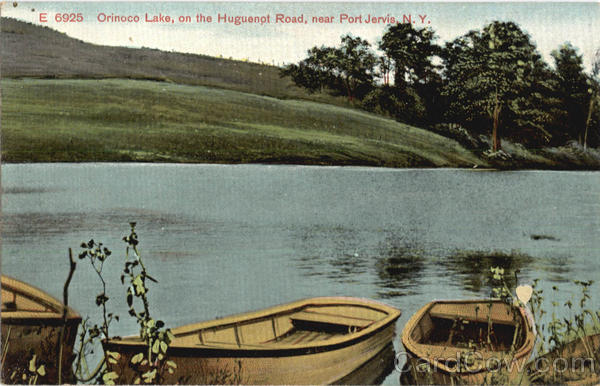Orinoco Lake Port Jervis New York Canoes & Rowboats