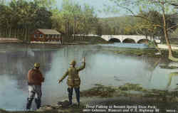 Trout Fishing at Bennett Spring State Park