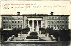 U. Of Wis. Agricultural Building Postcard