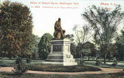 Statue Of Robert Burns , Washington Park