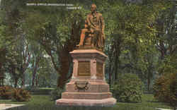 Burns Statue , Washington Park
