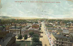 Birds Eye View From Security Bldg Postcard