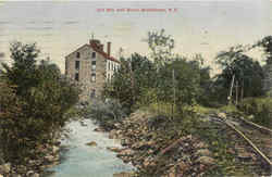 Old Mill And Brook