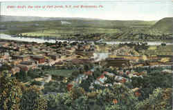 Bird's Eye View Of Port Jervis