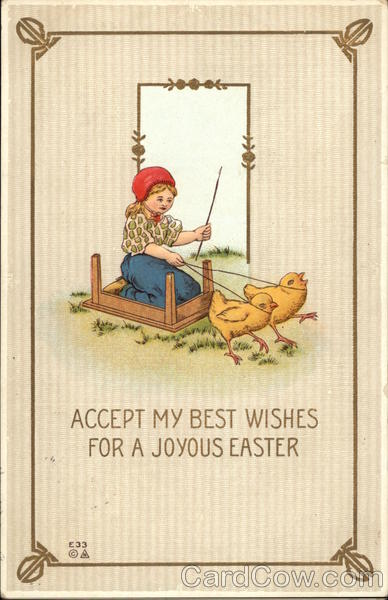 Accept my Best Wishes for a Joyous Easter With Children