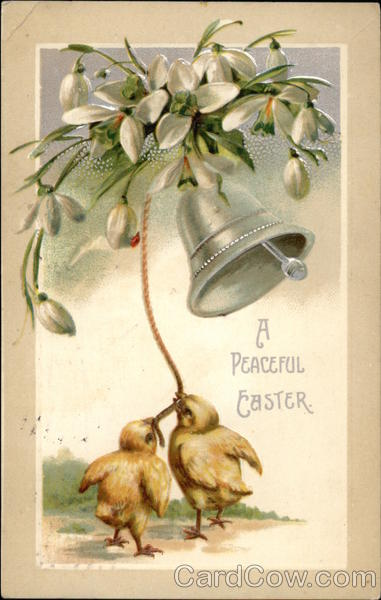 A Peaceful Easter With Chicks