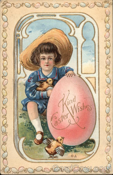 Kind Easter Wishes With Children