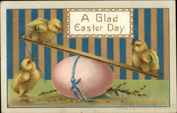 A Glad Easter Day Eggs
