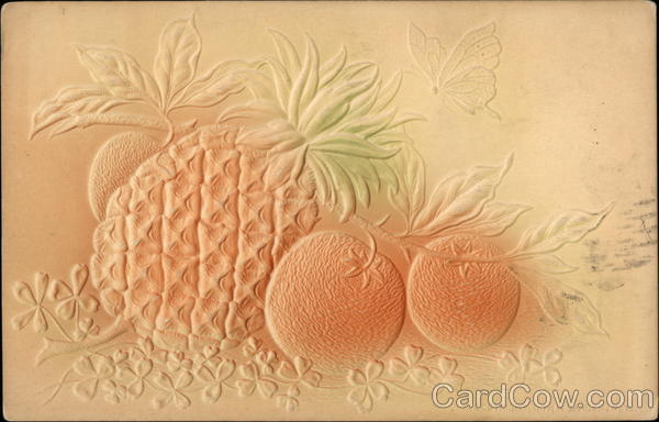 Embossed Fruit Airbrushed