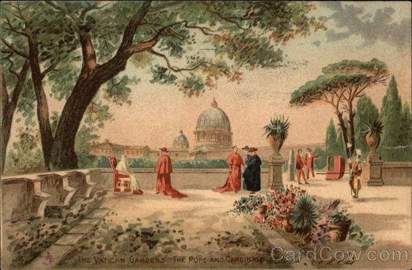 The Vatican Gardens, The Pope and Cardinals Religious