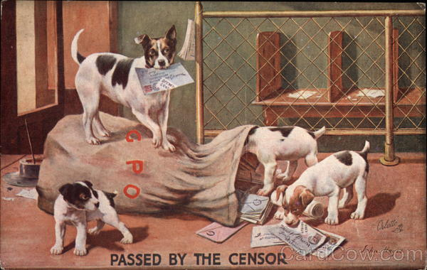 Passed by the Censor Dogs