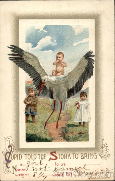 Cupid Told the Stork to Bring Storks
