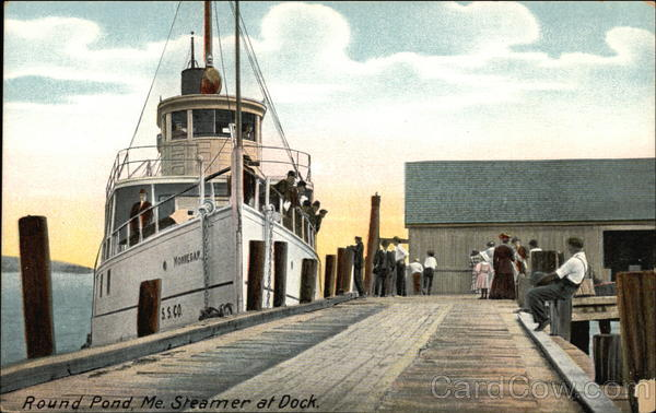 Round Pond, Mr. Steamer at Dock Steamers