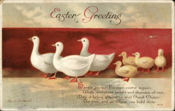 Easter Greeting, With Birds