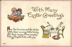 With Many Easter Greetings