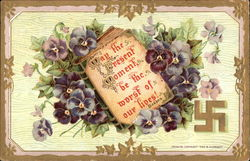 Lilacs With Dickens Quote