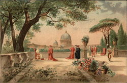 The Vatican Gardens, The Pope and Cardinals