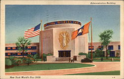 Administration Building, New York World's Fair 1939