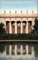 Niche and Pool: Court at Four Seasons at the Pan Pac. Int. Expo, San Francisco, 1915